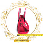 Pink Crossbody Bags For Women, Handmade (#1010)