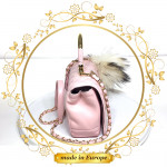 Pink Crossbody Bags For Women, Handmade (#1011)