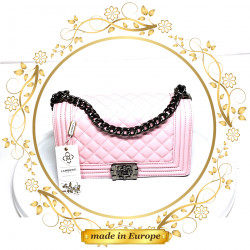 Pink Crossbody Bags For Women, Handmade (#1016)