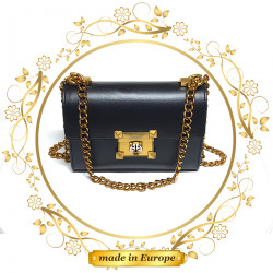 Black Purses For Women, Handmade (#1029)