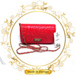Red Clutches, Handmade (#1041)